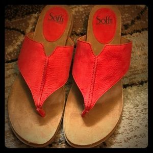 NWT sofft sandals